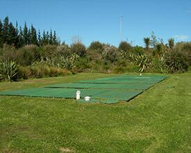 Photo of AdvanTex Treatment System at a sports field