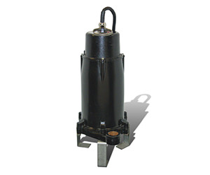 Photo of sewage grinder pump