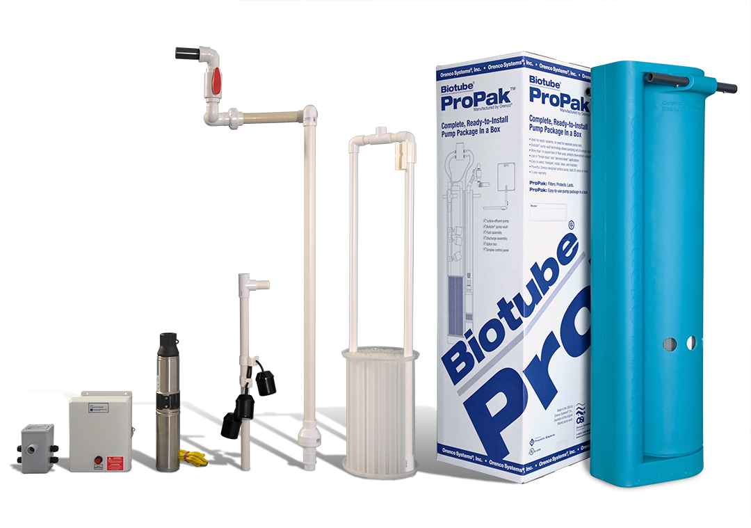 Biotube ProPak Pump Package