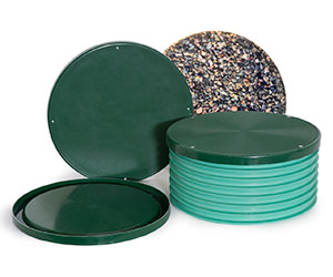 Photo of a variety of access lids