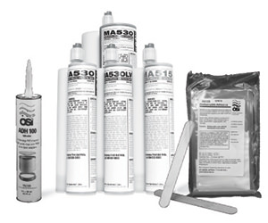 Photo of various adhesives