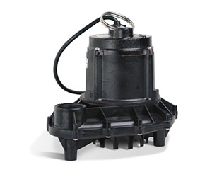 Photo of submersible effluent pump