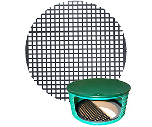 Photo of riser safety grate